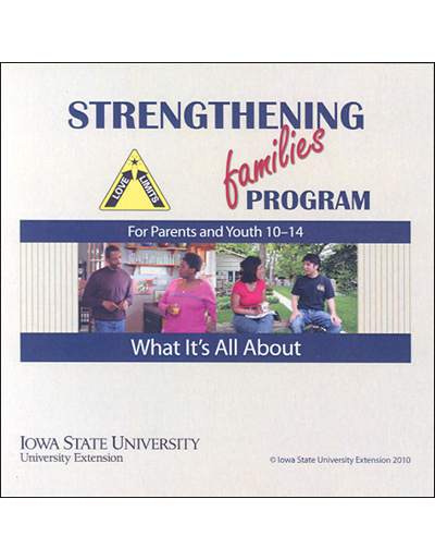 Strengthening Families Program: For Parents and Youth 10-14 - What It's All About Promo DVD